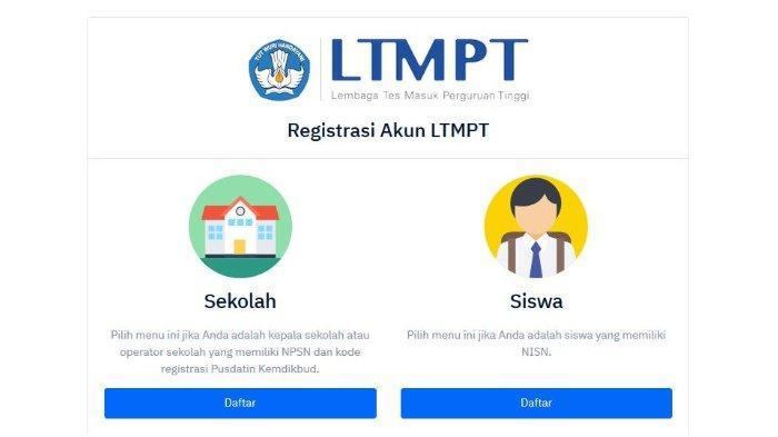 Peserta Diimbau Simpan Data Secara Permanen Registrasi Akun LTMPT Tahap 1 Ditutup 1 Februari 2021
